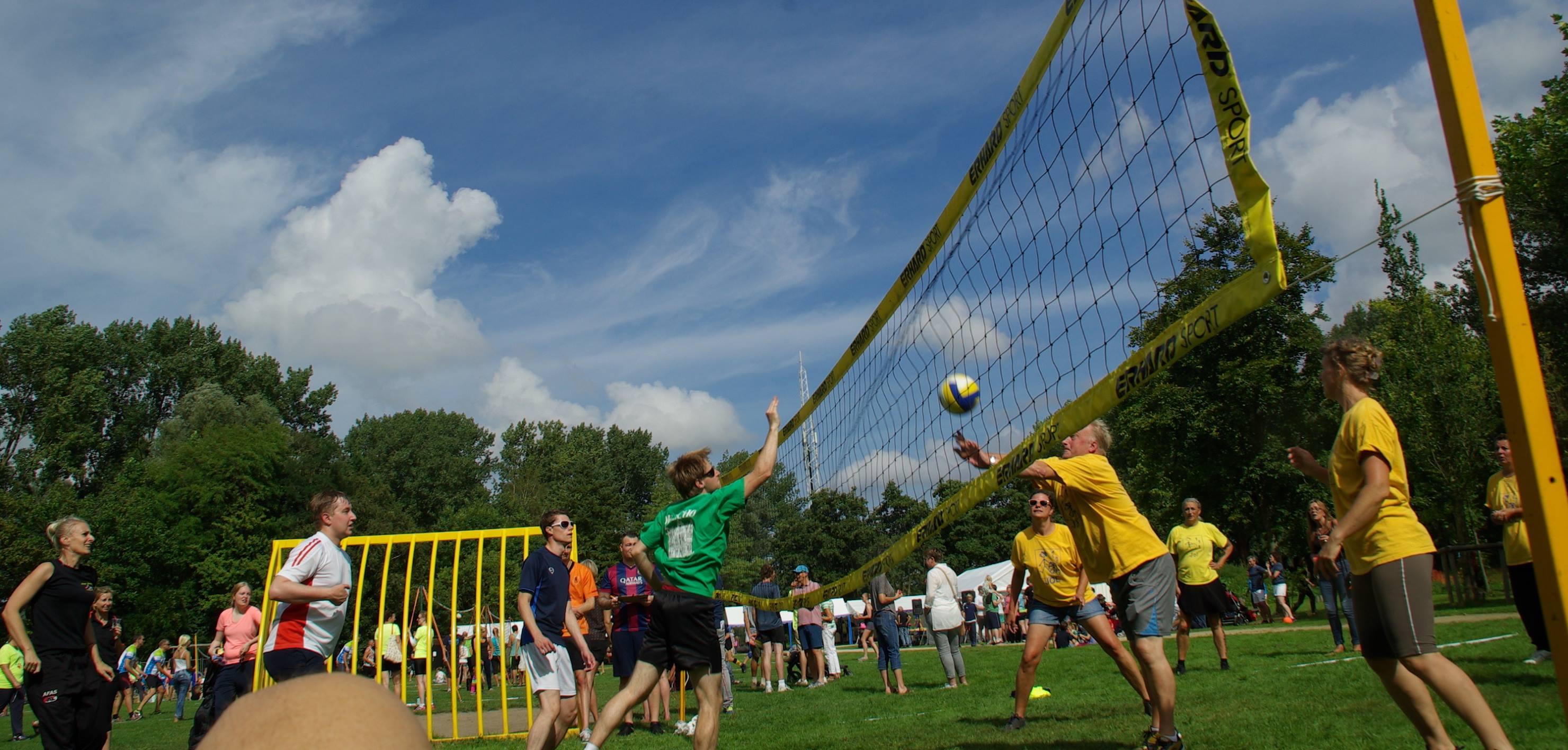 Afgelast: Volleybal en Parkfeest
