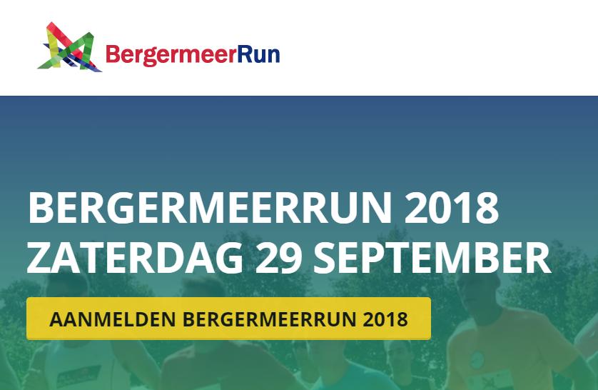 29 september 2018: Bergermeerrun