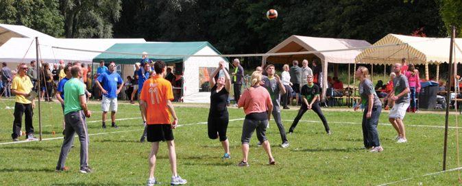 1 september 2018: Volleybal en Parkfeest