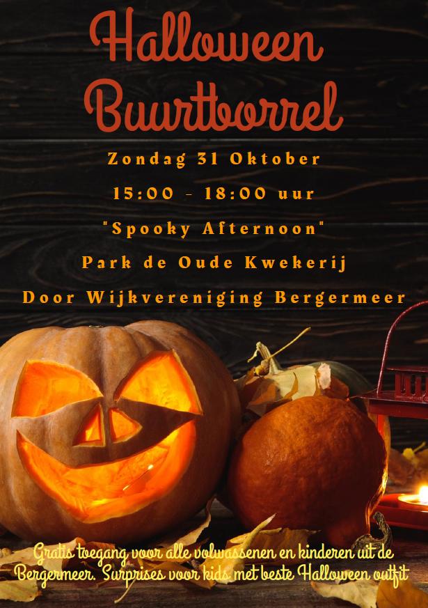 Halloween BuurtBorrel